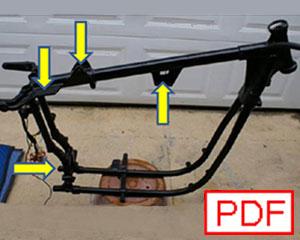 Harley K Model: Technical: Frames